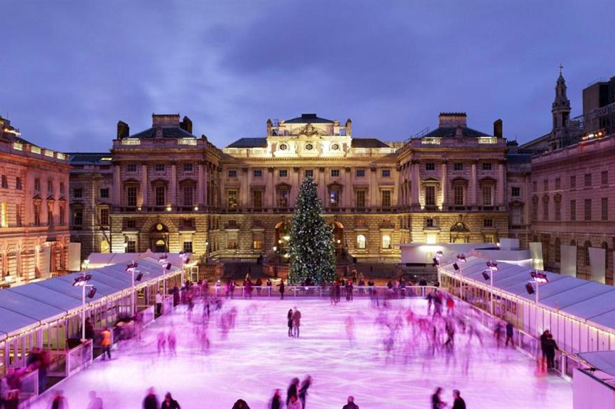 Skate at Somerset House reveals dates for corporate hire