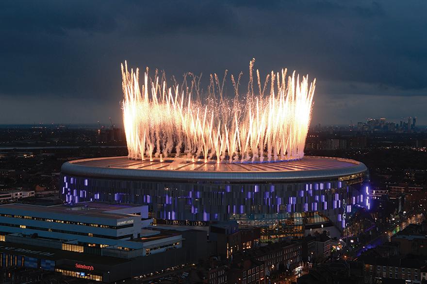 The stunning new Tottenham Hotspur Stadium
