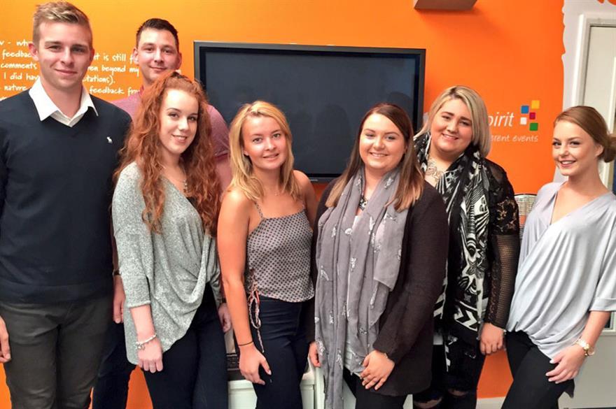 Team Spirit takes on seven new students