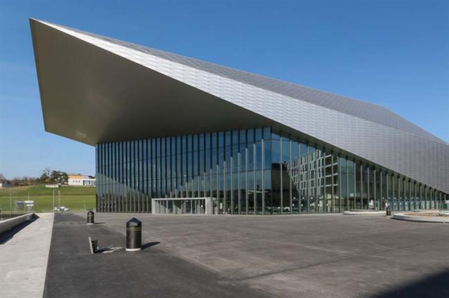 The Swiss Tech Convention Centre opened in April in Lausanne, Switzerland