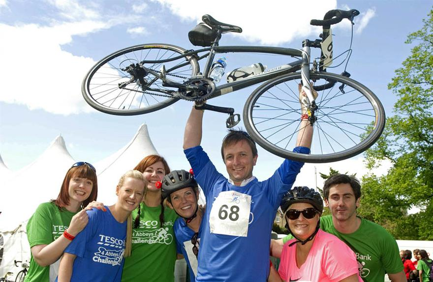 Tesco Bank's Four Abbeys challenge will now be open to the public, as well as staff