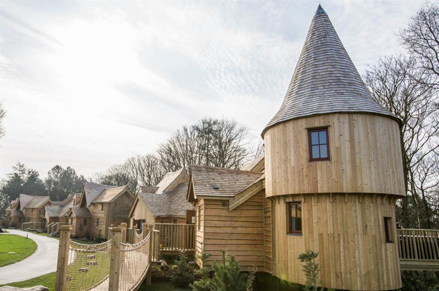 A luxury treehouse in the Enchanted Village