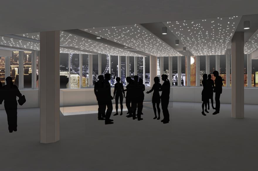 The QEII will open new banqueting space