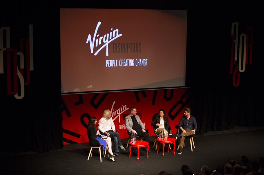 Virgin Disruptors conference