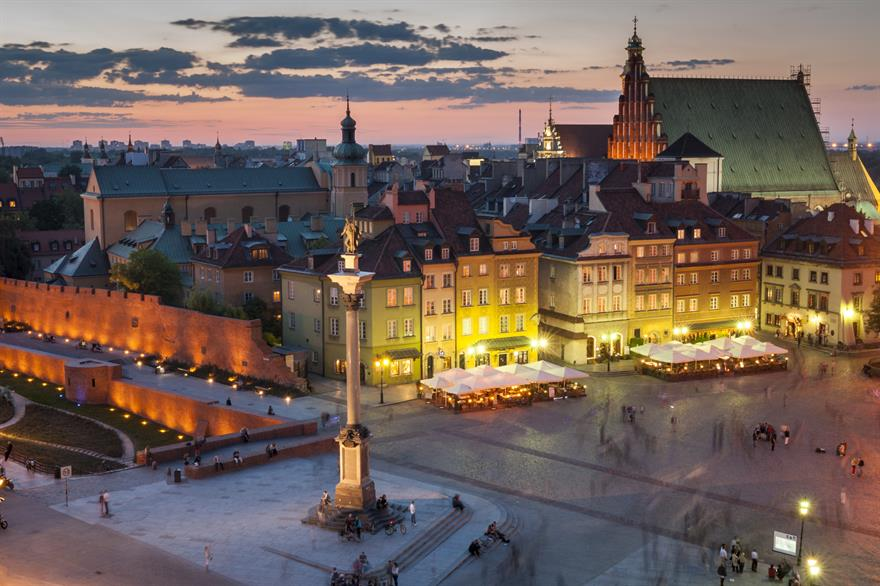 Development continues apace in Warsaw since Poland hosted the Euro 2012 football tournament