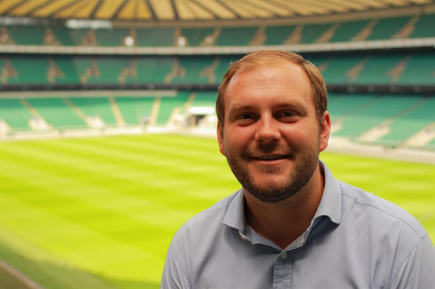 Andrew Waters, conference and events operations manager at Twickenham Experience