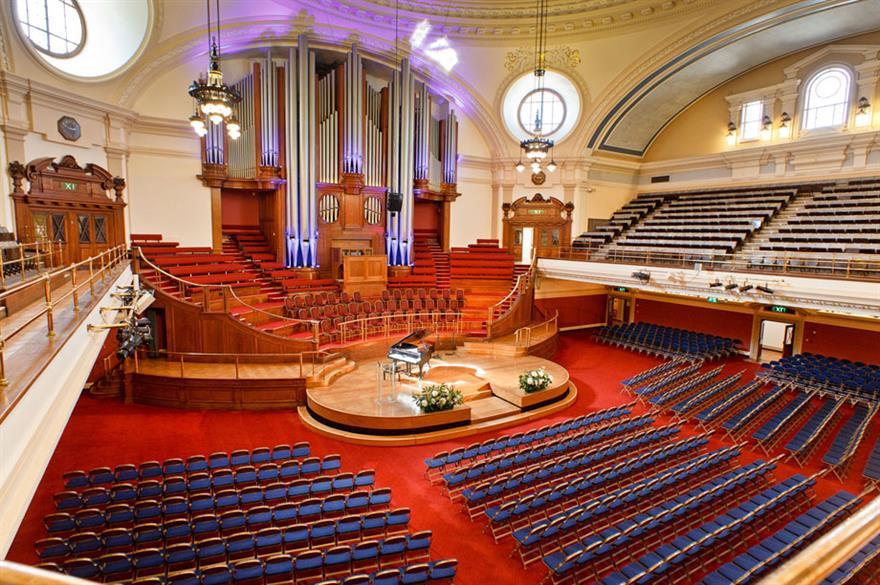 Central Hall Westminster announces record quarter