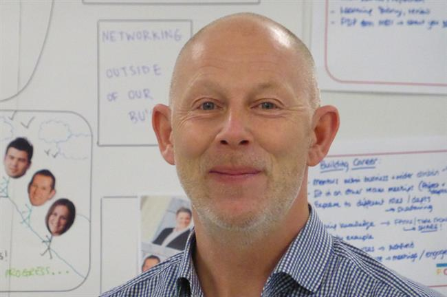 Andrew Winterburn, global business director for Ashfield Meetings & Events