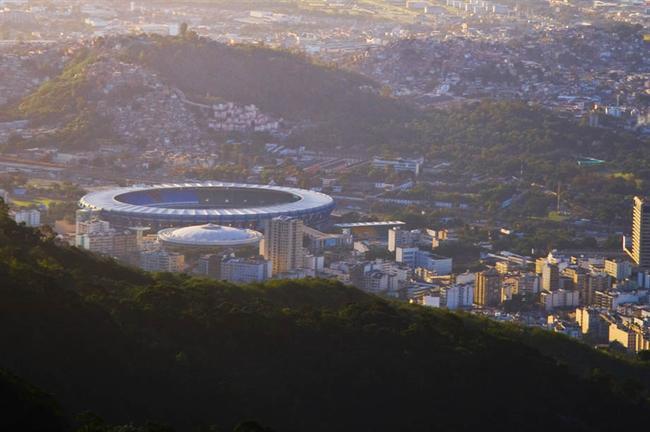 Rio's Maracana Stadium, venue for Fifa Brazil World Cup 2014 final