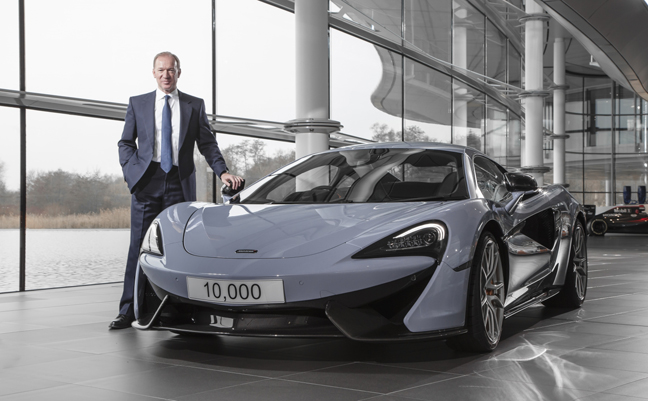 mclaren automotive ceo mike flewitt on personalisation, chinese