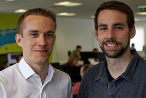 SwiftKey founders Jon Reynolds and Ben Medlock