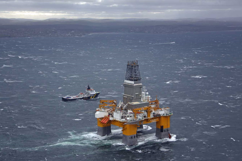 BP's Vorlich oil field in the North Sea is set to go ahead. Photograph: BP