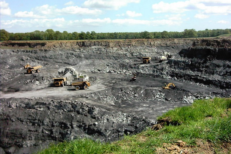 At least two new opencast coal mines are in the pipeline. Photograph: Paul Swindell/Geograph