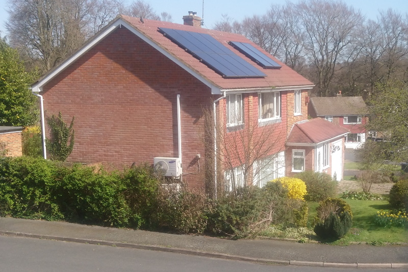 Homes could have a number of upgrades under the Green Homes Grant. Photograph: Gareth Simkins