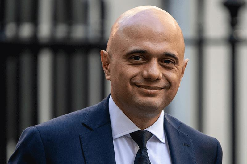 Under chancellor of the exchequer Sajid Javid, the Treasury will review the tools for reaching net zero greenhouse gas emissions by 2050.Photograph: Chris J Ratcliffe/Getty Images