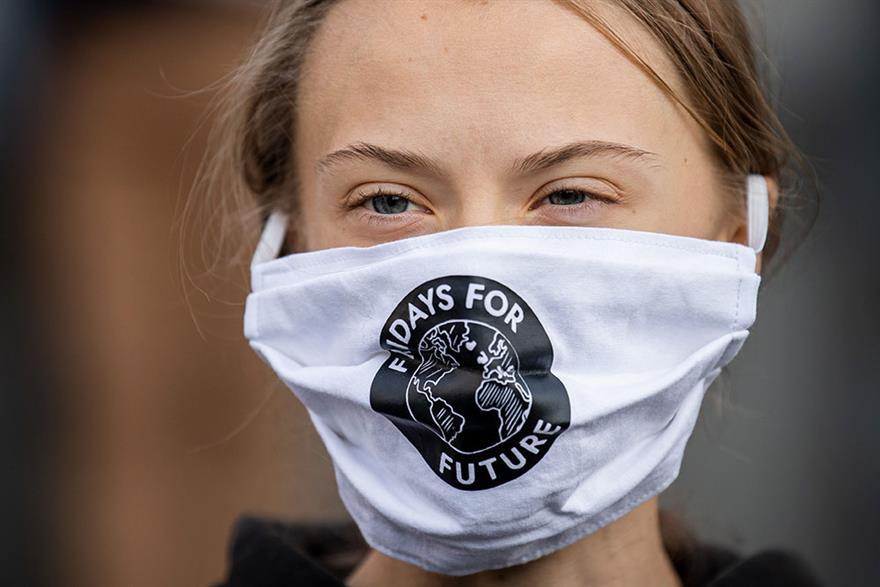Greta Thunberg has said that COP26 should be postponed. Photograph: Jonathan Nackstrand/Getty Images