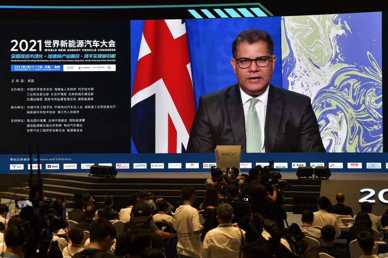COP26 president Alok Sharma has made intensive diplomatic efforts ahead of the Glasgow climate talks. Photograph: China News Service / Getty Images
