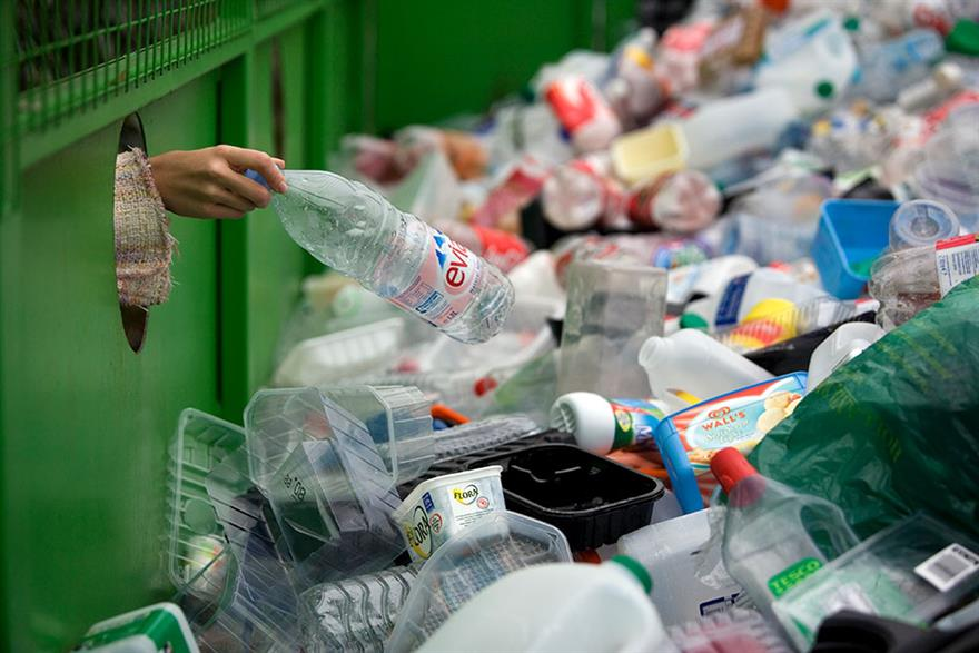 DEFRA plans for more UK plastic processing infrastructure. Photograph: Andrew Fox/Getty Images
