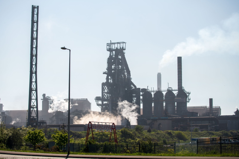 The new rules will apply to the Port Talbot steelworks in the same way as an intensive chicken unit. Photograph: Matthew Horwood/Getty Images