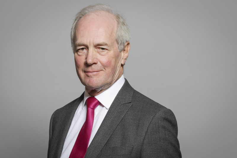 Lord Peter Lilley is a controversial appointee to the Lords' new environmental committee. Photograph: Parliament