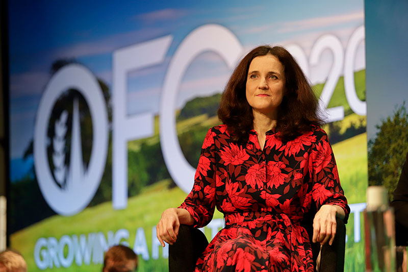 The Withdrawal Agreement Bill could allow any court or tribunal to reverse EU case law, but the environment secretary has promised any new trade deals will not lower standards. Photograph: Oxford Farming Conference