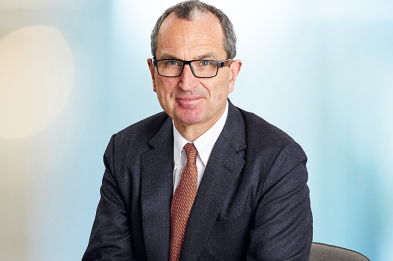 Chris Grigg will chair the new UK Infrastructure Bank. Photograph: British Land