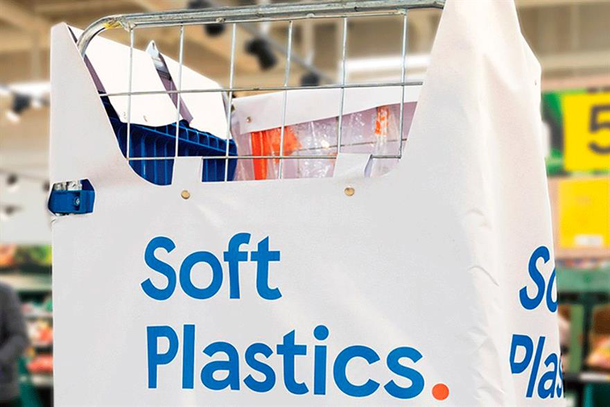 Photograph: Tesco is one of a number of UK supermarkets to offer recycling= points for soft plastic. Photograph: Tesco