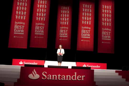 Santander UK Convention 2012 wins at C&IT Excellence Awards 2012