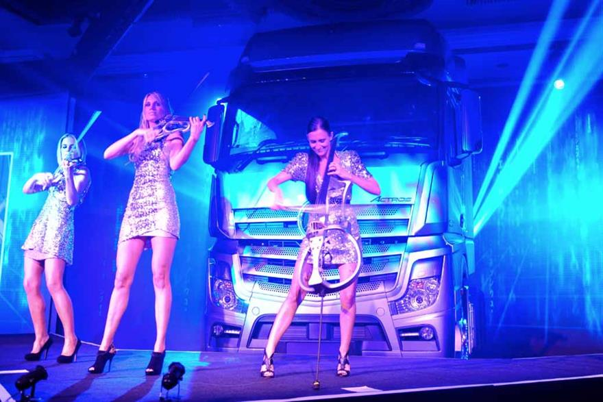 Mercedes-Benz's Actros UK launch won C&IT's Automotive Event of the Year
