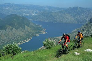 Mountain high: activities include hiking and biking options