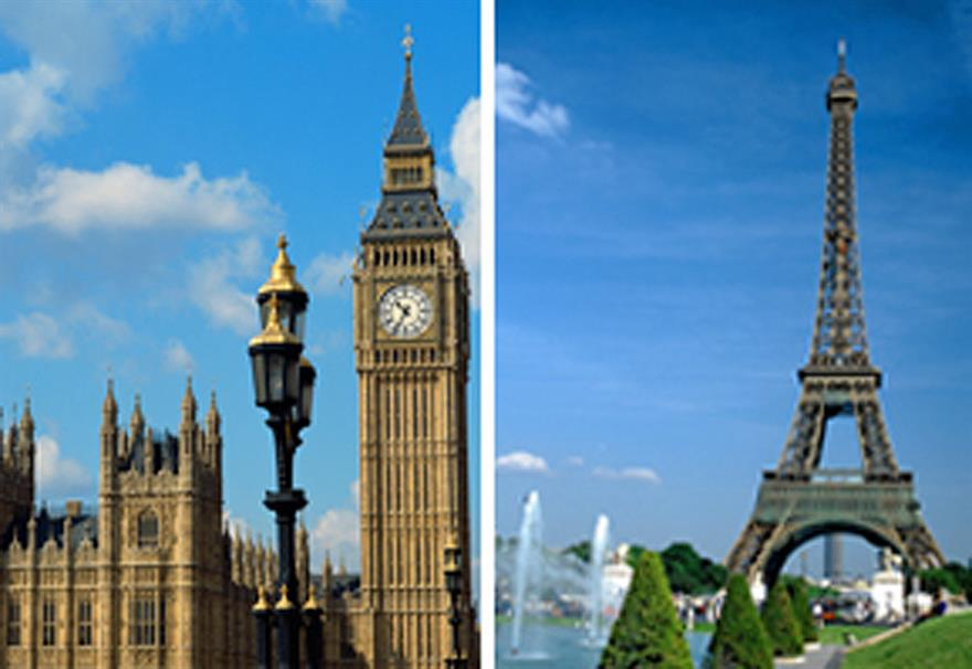London vs Paris: team-building in London vs Parisian incentives