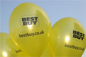 Green moves up at Best Buy