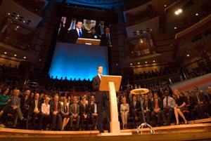Tories gather in Birmingham
