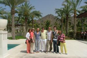 Wella takes the Sassoon team to Oman