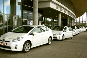 Toyota picks green venue for car launch