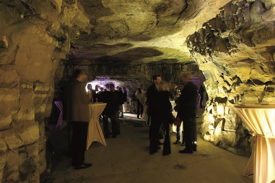 The underground Bock Casements, Luxembourg