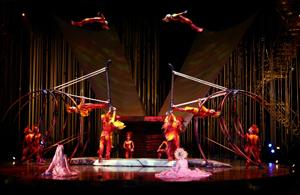 Royal Albert Hall teams up with Cirque du Soleil
