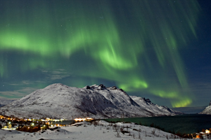 Northern Lights, aurora borealis, Norway
