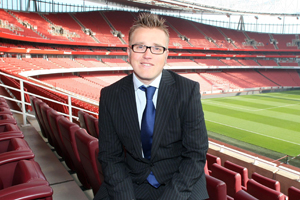 Nick Kenton: Emirates Stadium appoints new meetings and events manager