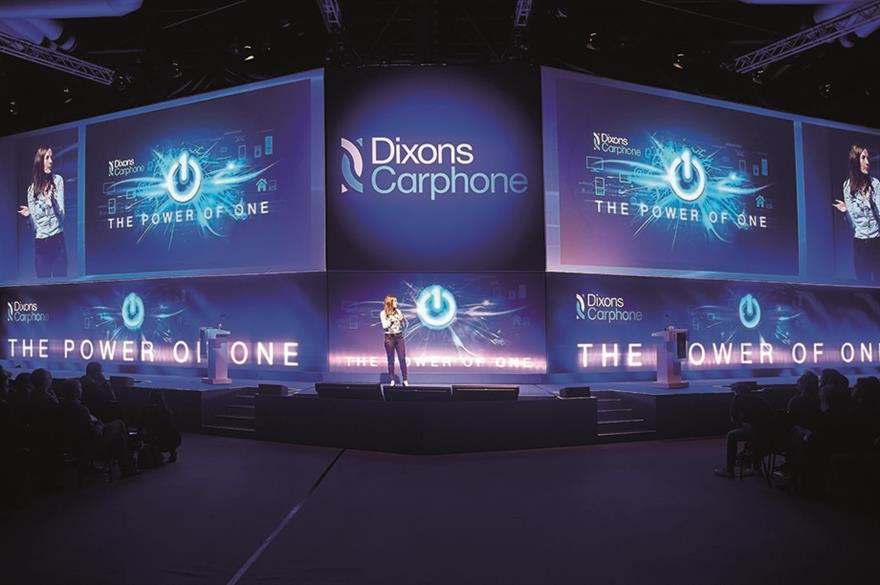 The fresh Group client Dixons Carphone