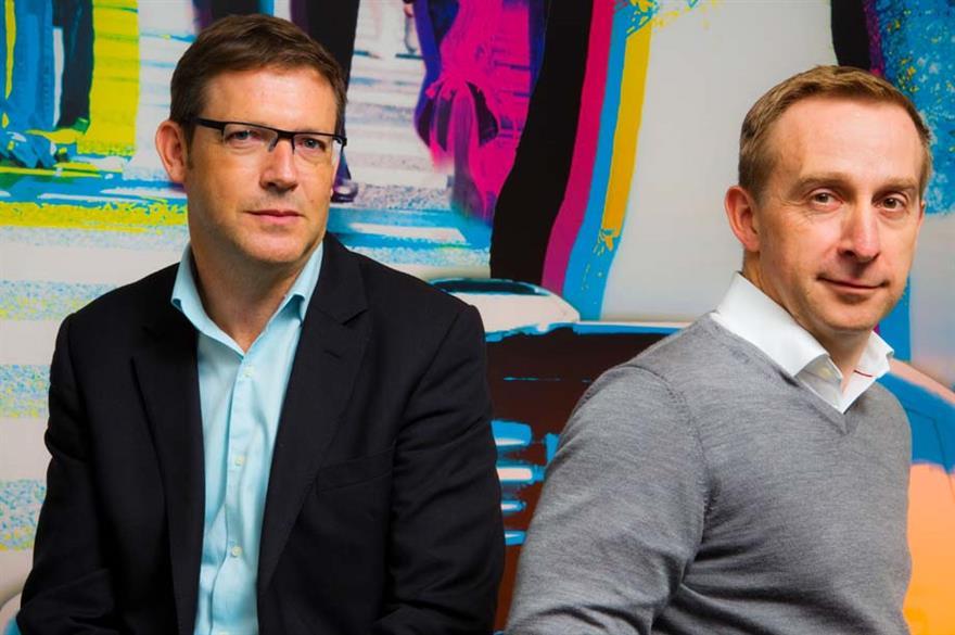 BI Worldwide's David Battley and Mike Davies