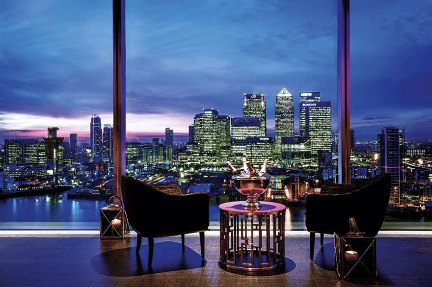 Eighteen Sky Bar, InterContinental London - The O2