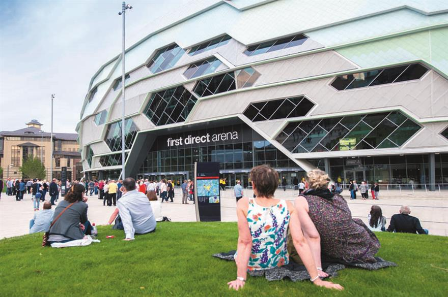 First Direct Arena, Leeds