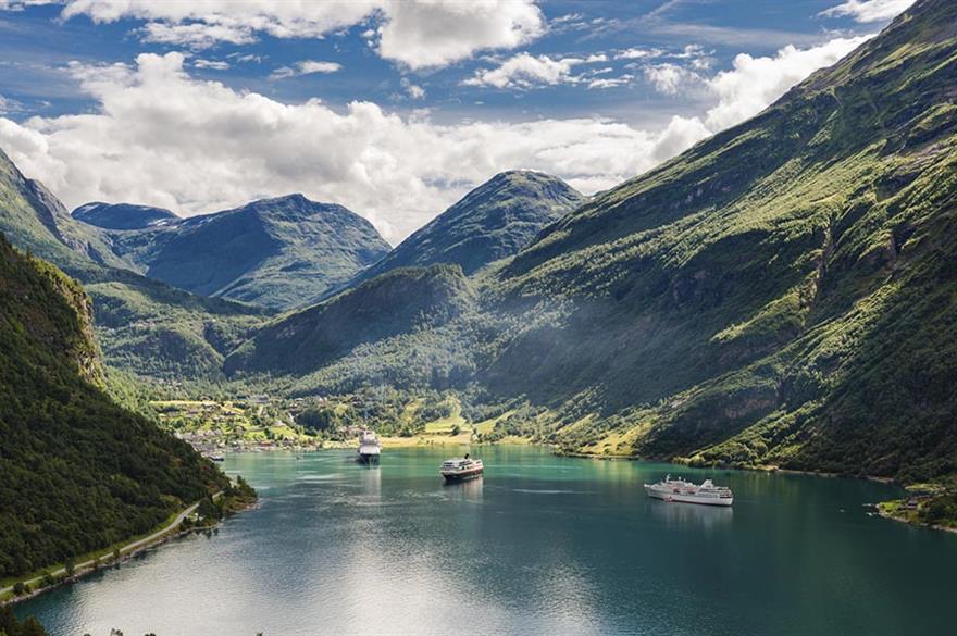 Geirangerfjord, Norway (©iStockphoto.com)