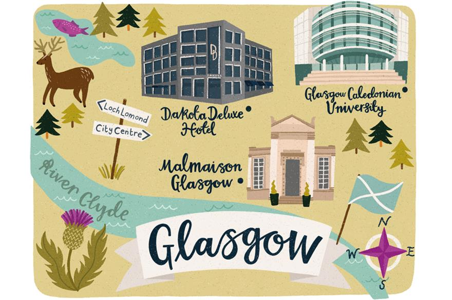 48 hours in... Glasgow
