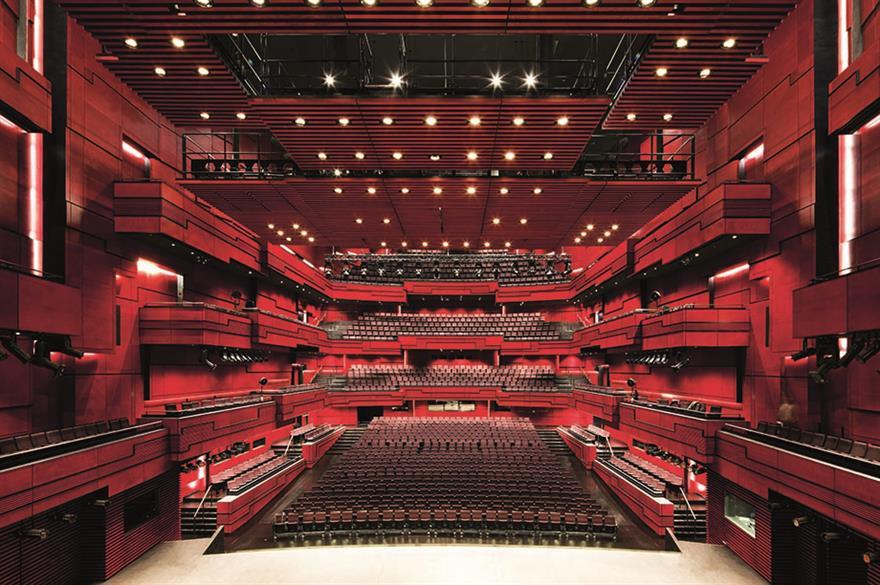 Chew Events director Matt Curran was 'blown away' by Harpa Concert Hall, Reykjavik
