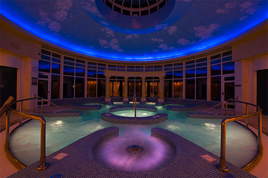 Hydropool and spa at Chewton Glen