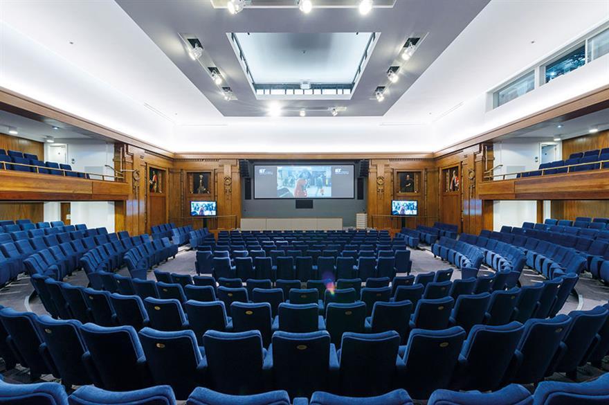 IET London Savoy Place's auditorium