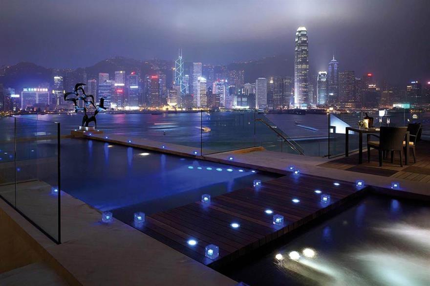 Intercontinental hotel, Kowloon, Hong Kong