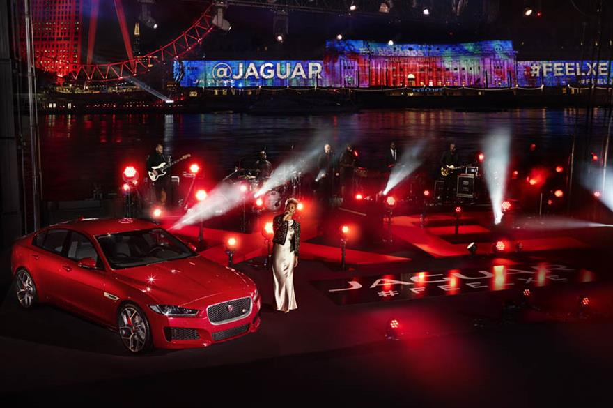 Jaguar XE World Premiere, London